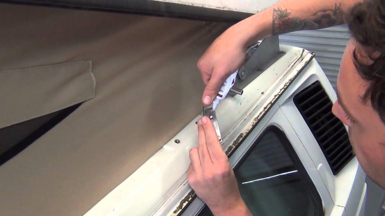 GoWesty Pop-Top Lift Assist Strut Kit Install for Vanagon Westfalia