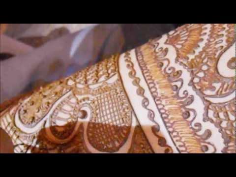 Mehndi Bridal Back Side : Full hand bridal mehndi design indian pkaistani henna