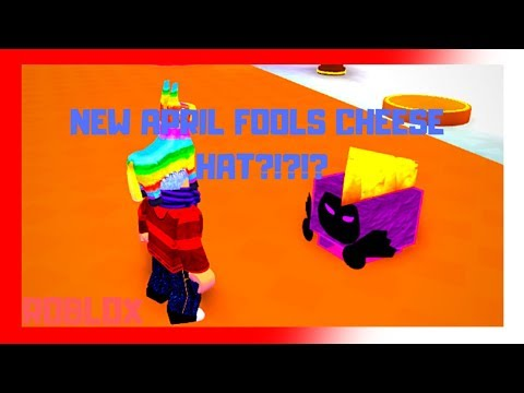 Cheese Hat Roblox New Cheese Hat Roblox Pet Simulator April Fool S Update Youtube