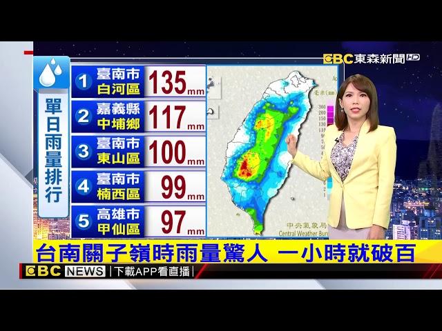 氣象時間 1080820 晚間氣象 東森新聞
