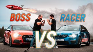 RAKETE TRIFFT MEIN AUTO! | Rennen gegen den BOSS | Daniel Abt
