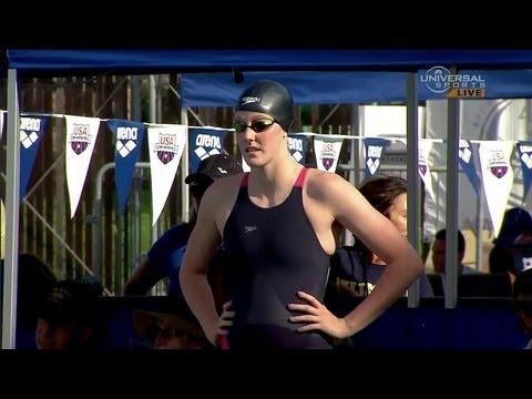 Missy Franklin beats Allison Schmitt in 200m Freestyle - Universal Sports