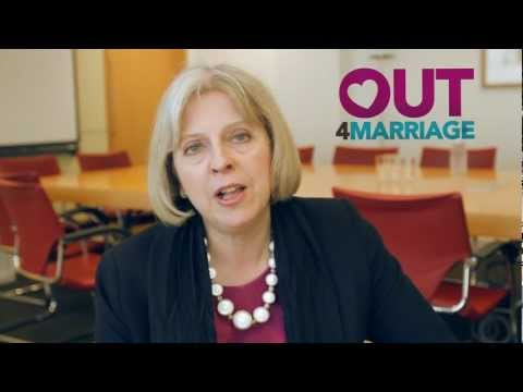 UK Home Secretary Theresa May Is @Out4Marriage - Are you?
