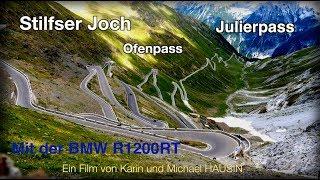 Stilfser Joch und Schweizer Alpen mit dem Motorrad