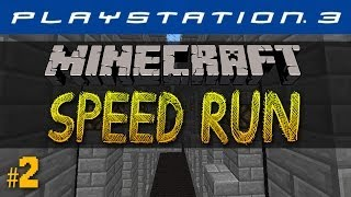Minecraft PS3 SPEED RUN #2 with Vikkstar (Minecraft Playstation 3 Edition)