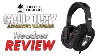 turtle beach cod advanced warfare sentinel task force headset review