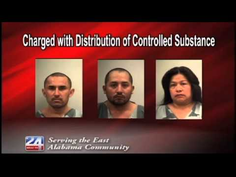 Charged with Distribution of Controlled Substance in Dekalb County