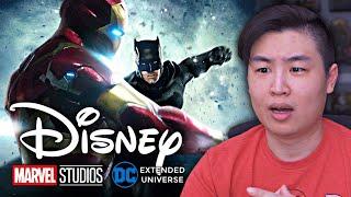 Дисней покупает DC ... Marvel VS DC может действительно случиться !!