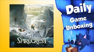 Everdell Spirecrest -  Daily Game Unboxing