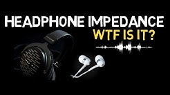 Headphone Impedance - What is it? - EXPLAINED : Audio Production 101