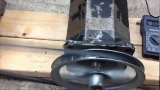AC DC Permanent Magnet Motor Generator GO OFF GRID POWER FREE Home Energy Electricity Setup HOJO PMG