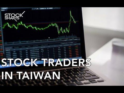 STOCK TRADERS IN TAIWAN