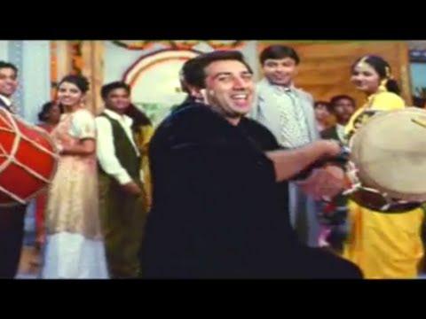 Halle Halle - Yeh Raaste Hain Pyaar Ke - Sunny Deol, Ajay Devgn & Madhuri Dixit - Full Song