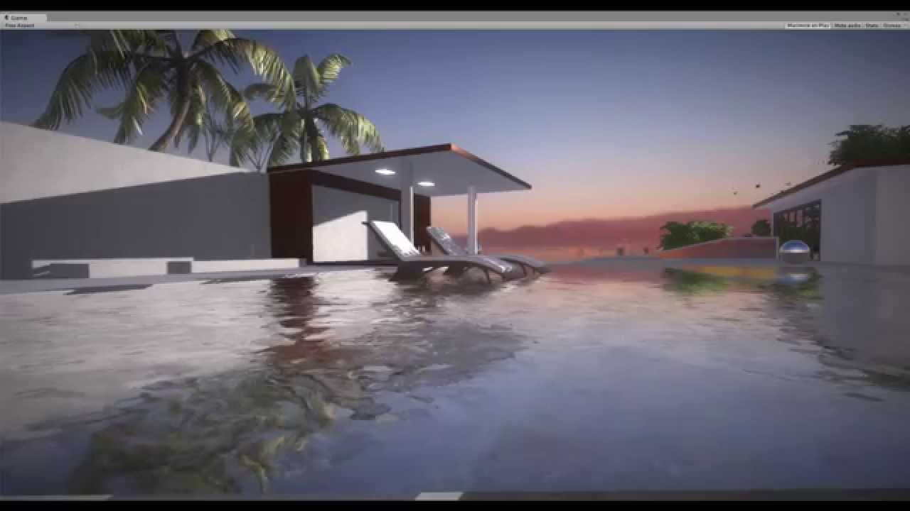 MGD Films - Unity 3D 5, First ArchViz Scene from Sketchup (60 fps) by  Cristian Magadan