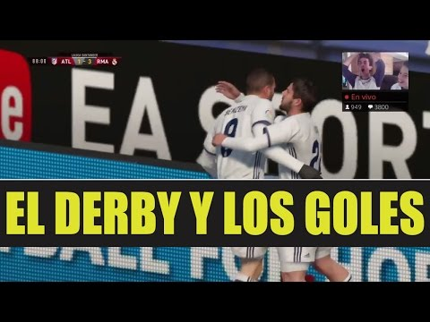 ATLETICO DE MADRID VS REAL MADRID EN VIVO - EL DERBY - 동영상
