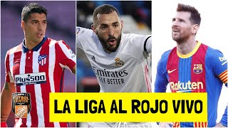 LA LIGA ESTÁ QUE ARDE Atlético de Madrid, Real Madrid y Barcelona en la recta final | Futbol Center