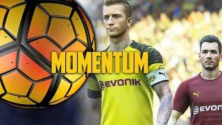 Revier-Derby zwischen FIFA 19 und PES 2019 - Momentum: Euer FIFA-18-Update