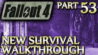 Fallout 4 New Survival Walkthrough  Part 53 Tour of Duty