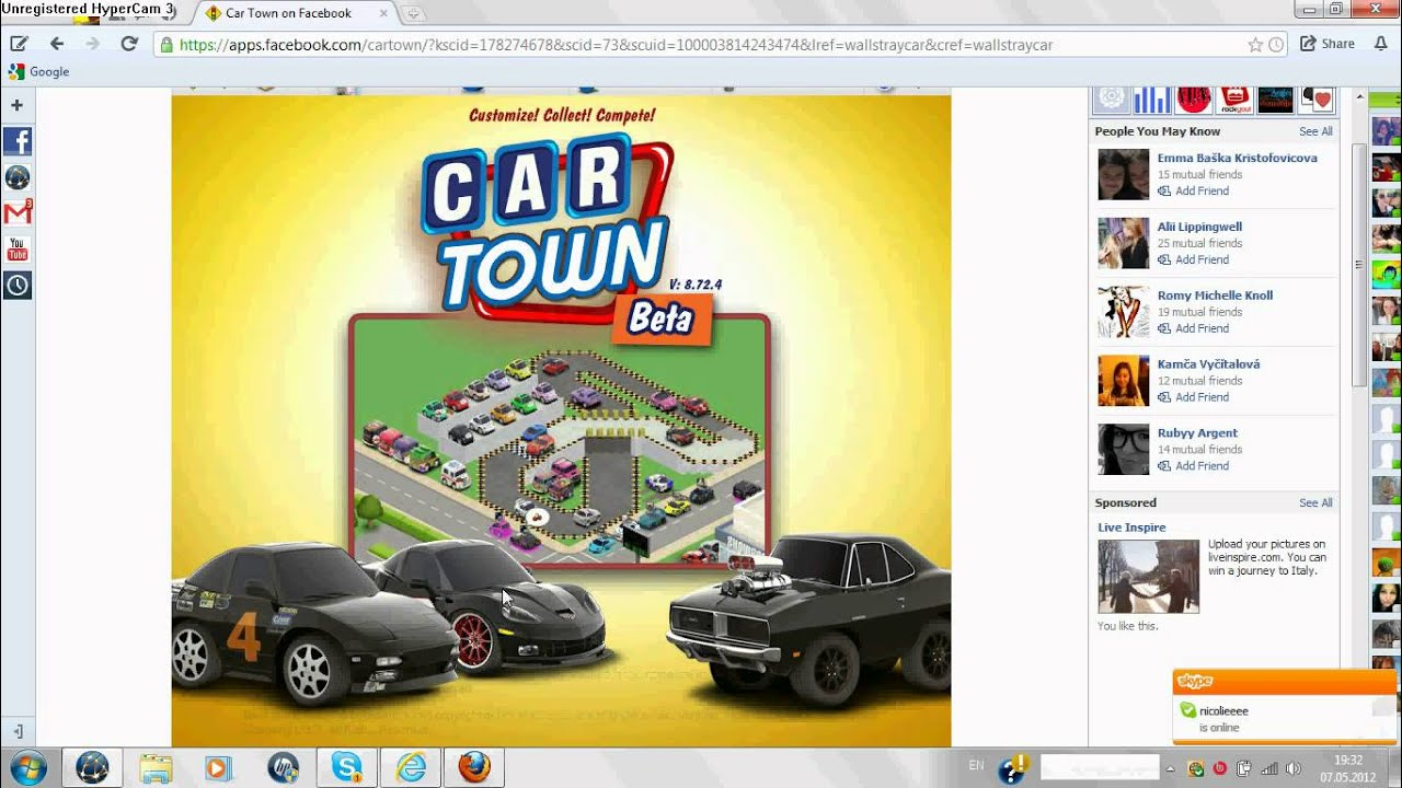 How To Get Free Items In Car Town Facebook