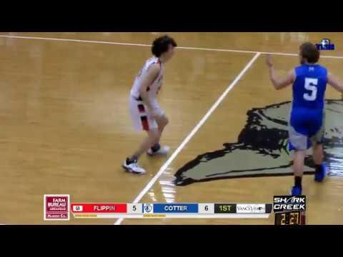 Cotter at Flippin High School Basketball Senior Boys 01/07/20