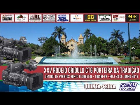 XXV Rodeio Crioulo do CTG Porteira da Tradição - Cabanha Santa Carmelita - Tibagi-PR