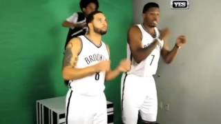 "Brooklyn Nets Doing the ""Cookie Dance"""