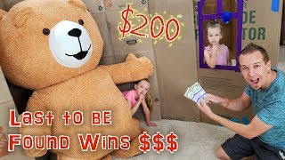 Last To Be Found Wins $200!!! Last One Wins Challenge!