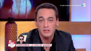 Phénomène : la voix de Johnny - C à Vous - 30/01/2018