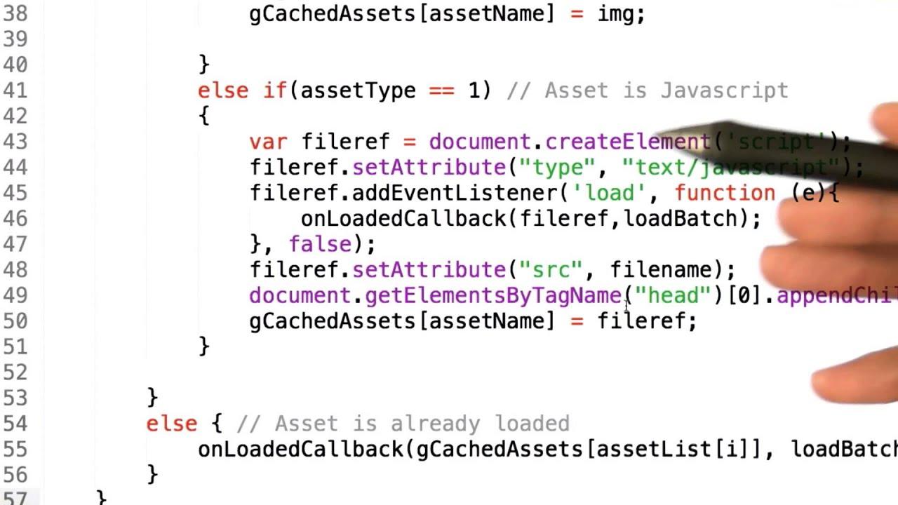 Loading javascript - HTML5 Game Development - YouTube