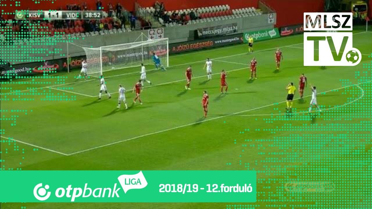 Pátkai Máté gólja a Kisvárda Master Good - Mol Vidi FC mérkőzésen