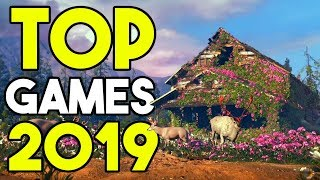 TOP 5 GAMES 2019 | NEUE SPIELE - Grafik & Gameplay