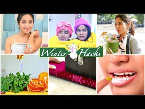 6 LIFE Saving WINTER HACKS You Must Know ...| #Skincare #Haircare #LifeHacks #Beauty #Anaysa