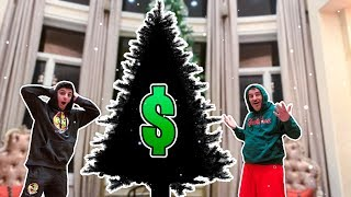 WE BOUGHT THE MOST EXPENSIVE CHRISTMAS TREE *$ 20,000*