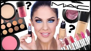 TOP FIVE MAC MUST HAVES!!! BEST MAC MAKEUP!!