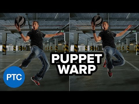 How To Use PUPPET WARP In Photoshop - Photo Manipulation Tutorial