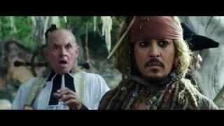 """Пираты Карибского моря 5 ► капитан Джек Воробей возвращает свой корабль """"Чёрную Жемчужину"""""""