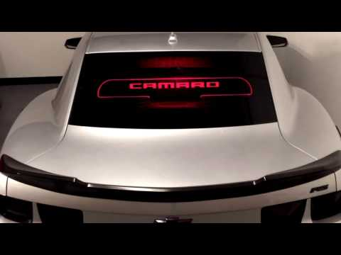 Camaro 5th Gen Glow Plate   Classic Industries