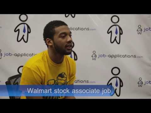 walmart stocker job description salary