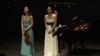 W.A.Mozart sonata for Violin and Piano no.17 KV296, in C major