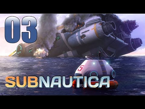 Subnautica - Let's Play Part 3: We Must Go Deeper...