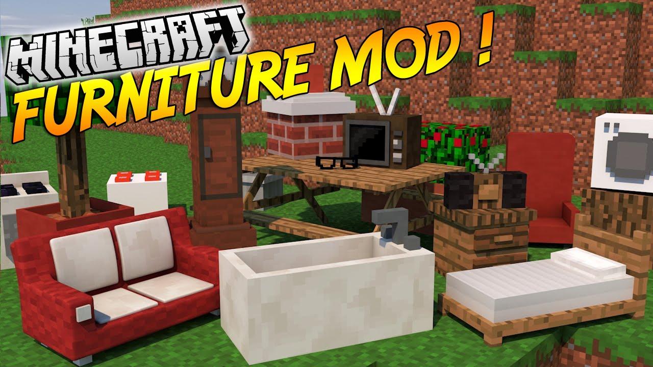 Ordinateur tv salle de bain et bien plus for Minecraft meuble