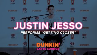Justin Jesso Performs 'Getting Closer' Live | DLL