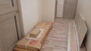 Ремонт двухкомнатной квартиры. Стены из гипсокартона