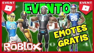 NEW NFL ROBLOX EVENT (NEW FREE EMOTICONS WITHOUT ROBUX)