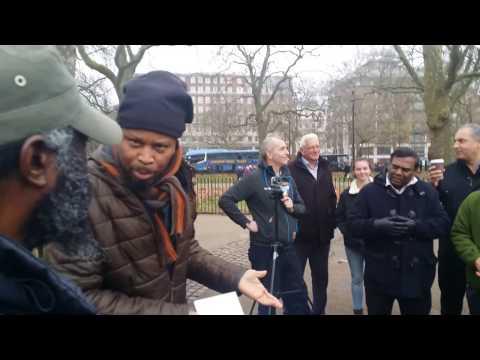 Man Of God - Chess - Speakers Corner Hyde Park London 18-12-16. (1)