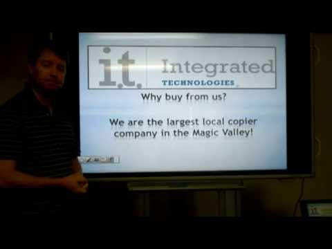 Integrated Technologies the Largest Local Copier Company in the Magic Valley.