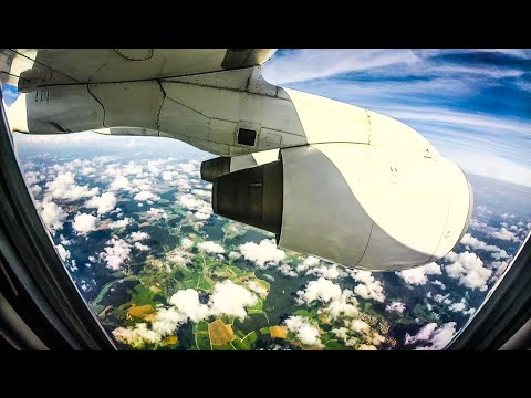 AVRO RJ 100 Full Flight | Zurich to Stuttgart | SWISS Intl.