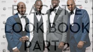 Men's Style: What To Wear To Black Tie Events (Look Book 2)