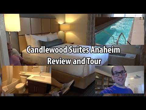 Disneyland Area Hotel - Candlewood Suites Anaheim Review And Tour