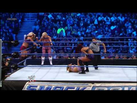 Six-Diva Tag Team Match: SmackDown, Nov. 16, 2012